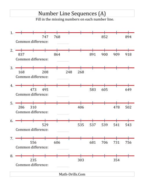 worksheet Fraction Number Lines Worksheets number line worksheets free library download and fraction sheets