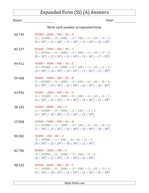 Writing Numbers In Expanded Form Worksheets Mersnoforum