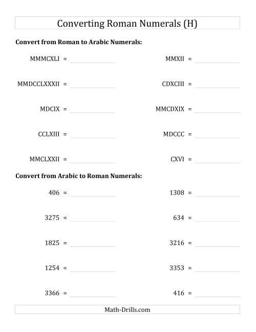 Understanding Roman Numerals Worksheet Together With Hindi Worksheets ...