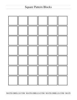 Black and White Pattern Blocks