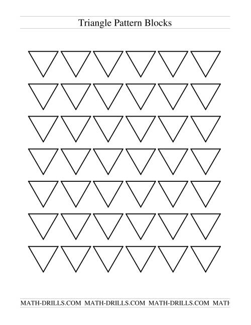The Black and White Pattern Blocks Math Worksheet Page 2