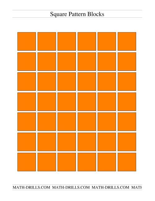 Color Pattern Blocks