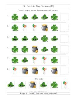 St. Patrick's Day Picture Patterns with Shape Attribute Only (D)