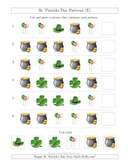 St. Patrick's Day One-Attribute Patterns (E)