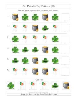 St. Patrick's Day Picture Patterns with Shape Attribute Only (H)