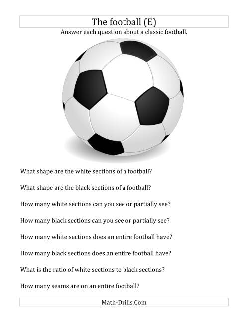 World Cup Math The Football Holiday and Event Math Worksheet – Football Maths Worksheets